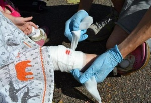 Paediatric First Aid training for business