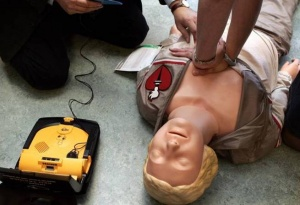 AED training for business