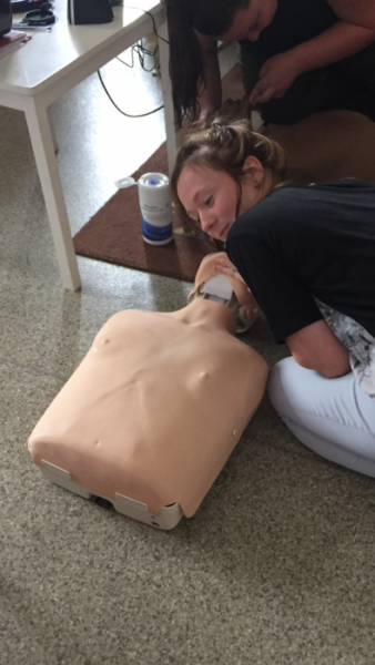 AED and BLS training